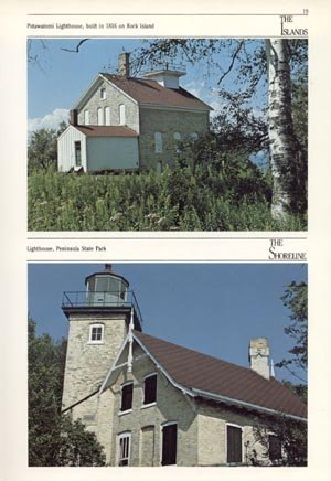 Journeys to Door County WI History Wisconsin MIKE LINK Craig Blacklock HB