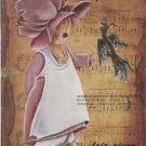 Heavenly Hayseeds RAG DOLL Tin Porcelain WOOD How To Oil Paint PATTERNS