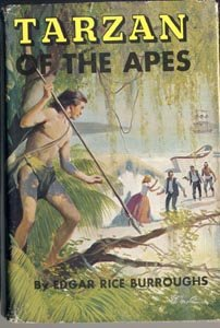 TARZAN OF THE APES Edgar Rice Burroughs ERB Excellent 1914 HB VG RARE DJ