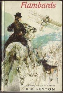 Flambards K M PEYTON Horse Book FOX HUNTING Hound WWI Edwardian England 1st HB