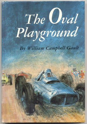 Oval Playground VINTAGE AUTO RACING Car Drag Race DIRT TRACK LEAGUE William Campbell Gault 1st DJ