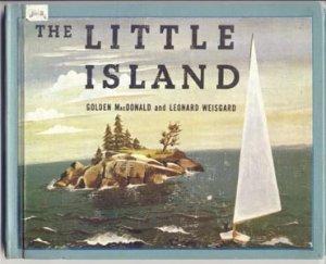 Little Island CALDECOTT Margaret Wise Brown GOLDEN MACDONALD Leonard Weisgard 1946 HB
