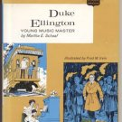 DUKE ELLINGTON Young Music Master CHILDHOOD OF FAMOUS AMERICANS Jazz Piano Bandleader COFA 1st DJ