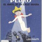 Pedro el Angel de La Calle Olvera Street SPANISH TEXT Leo Politi LOS ANGELOS CA 1st EDITION w/ DJ