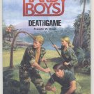 HARDY BOYS CASEFILES SERIES Deathgame  KID MYSTERY Franklin Dixon SURVIVAL CAMP 1987 HB