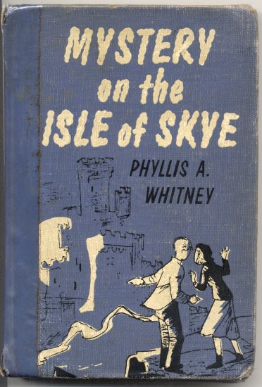 Mystery on the Isle of Skye SCOTLAND Phyllis Whitney ANCESTORS 1955 1st Edition HB