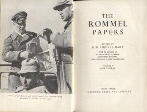 ROMMEL PAPERS B. H. Liddell Hart WWII WW 2 Germany HISTORY Allies NAZI Western Europe FRANCE HB