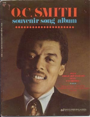 O C Ocie Smith Souvenir Song Album JAZZ SONGBOOK Sheet Music PIANO Vocal GUITAR CHORDS FRAMES