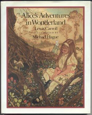 ALICE Alice's Adventures in Wonderland LEWIS CARROLL Michael Hague HB DJ