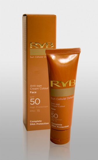 RVB - SPF 50 - Anti-age cream colour 50ml