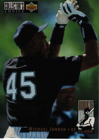 1994 Collectors Choice Michael Jordan #661 Rookie Baseball Card,cards