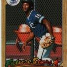 1987 Topps Bo Jackson #170 Baseball Rookie Card, cards