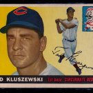 1955 Topps Ted Kluszewski #120 Cincinnati Redlegs Baseball Card, cards