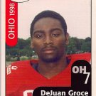 Big 33 Ohio 1998 DeJuan Groce Football Card, cards