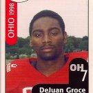 Big 33 Ohio 1998 DeJuan Groce Football Card, cards