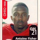 Big 33 Ohio 1998 Antoine Fisher Football Card, cards