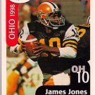 Big 33 Ohio 1998 James Jones Football Card, cards