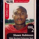 Big 33 Ohio 1998 Shawn Robinson Football Card, cards