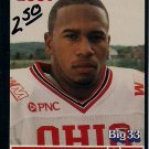 Big 33 Ohio 2001 Maurice Hall Football Card, cards