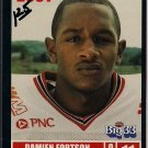 Big 33 Ohio 2001 Damien Fortson Football Card, cards