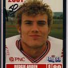 Big 33 Ohio 2001 Redgie Arden Football Card, cards
