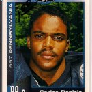 Big 33 Pennsylvania 1997 Carlos Daniels Football Card, cards