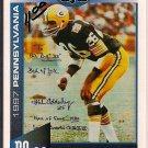 Big 33 Pennsylvania 1997 Herb Adderley Football Card, cards