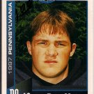 Big 33 Pennsylvania 1997 Ryan Mason Football Card, cards