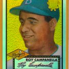 Roy Campanella 2002 Topps Chrome Refractor Reprint Baseball Card, cards