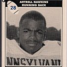Big 33 Pennsylvania 1994 Artrell Hawkins Football Card, cards