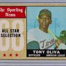 1968 Topps Tony Oliva #371 All Star Baseball Card, cards