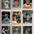 Nolan Ryan 1999 Topps Commemorative Reprint 9 card lot