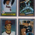 Nolan Ryan 1999 Topps Finest Commemorative Reprint 4 card lot
