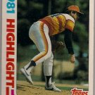 Nolan Ryan 1982 Topps #5 Astros Baseball Card, cards