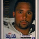 Big 33 Pennsylvania 2000 Paul Jefferson Football Card, cards