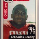 Big 33 Ohio 1998 LeCharles Bentley Football Card, cards