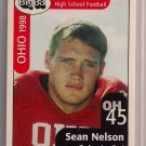 Big 33 Ohio 1998 Sean Nelson Football Card, cards
