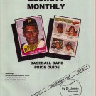 2001 Reprint November 1984 Issue #1 Beckett Monthly Baseball Card Price Guide