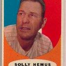1961 Topps Solly Hemus #139 St. Louis Cardinals Baseball Card, cards
