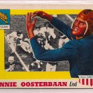 1955 Topps All American Bennie Oosterbaan #80 Michigan Football Card, cards