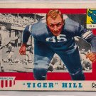 "1955 Topps All American ""Tiger"" Hill #60 Duke Football Card, cards"