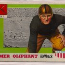 1955 Topps All American Elmer Oliphant #45 Army Football Card, cards