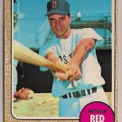 1968 Topps Tony Conigliard #140 Boston Red Sox Baseball Card, cards