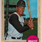 1968 Topps Maury Wills #175 Pittsburgh Pirates Baseball Card, cards