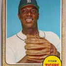 1968 Topps Earl Wilson #160 Detroit Tigers Baseball Card, cards