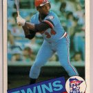 1985 Topps Kirby Puckett #536 Minnesota Twins Rookie Baseball Card,cards