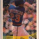 1984 Donruss Ryne Dee Sandberg #311 Chicago Cubs Rookie Baseball Card,cards