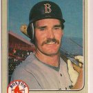 1983 Fleer Wade Boggs #179 Boston Red Sox Rookie Baseball Card,cards