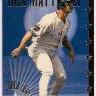 Don Mattingly 1995 Gold Leaf Star Baseball Card, cards