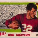 1955 Topps All American Bob Grayson #5 Stanford Football Card, cards
